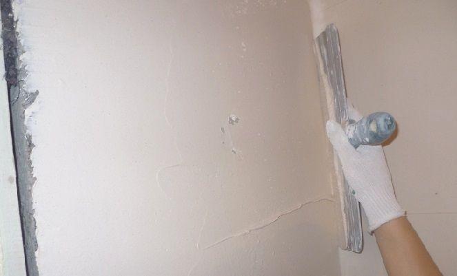 Шпаклювання стін - повна технологія