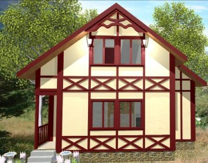 Каркасний будинок із готових панелей, як варіант для будівництва