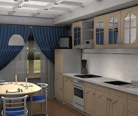 Покази зображень ремонту кухонь в стильному дизайні.