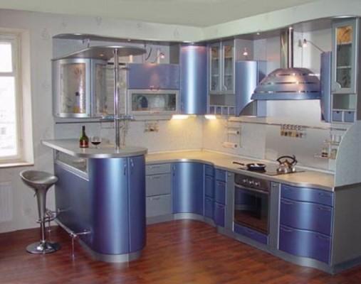 Стильний дизайн в ремонті кухоньм - фото