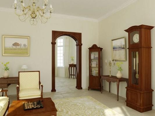 Фото та вигляд арок між кімнатами.