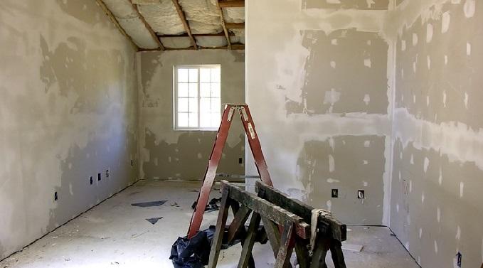 Гіпсокартонові стіни - технологія кріплення.