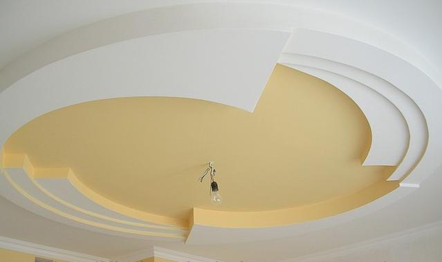 Підвісні стелі з гіпсокартону - кріплення, монтаж.