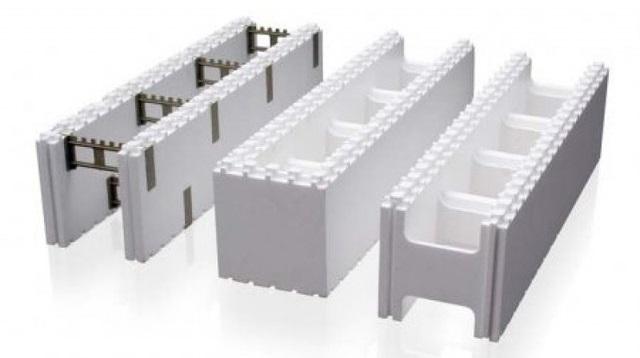 Незнімна опалубка - використання і застосування у будівництві.