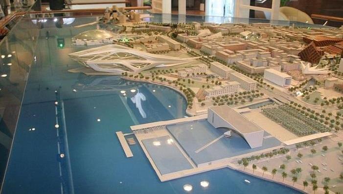 План масштабного будівництва на острові Саадіят.