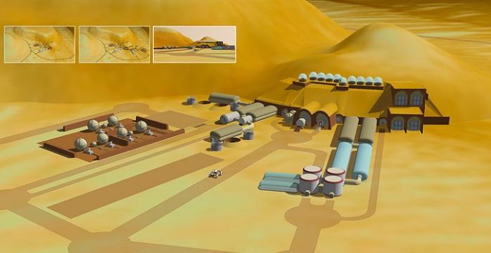 NASA представило нову технологію будівництва будинків на Марсі