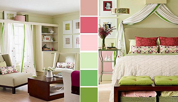 Кольори в інтерєрі приміщення чи кімнати - схема.