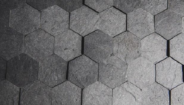 Облицювальна плитка із переробленого паперу