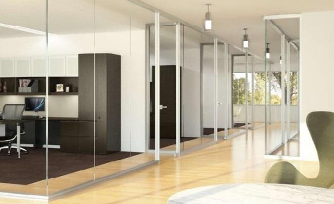 Нові рухливі стінові системи для оптимальної організації простору офісу