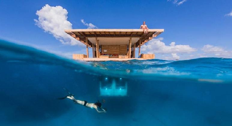 Побудовано готель із підводним номером
