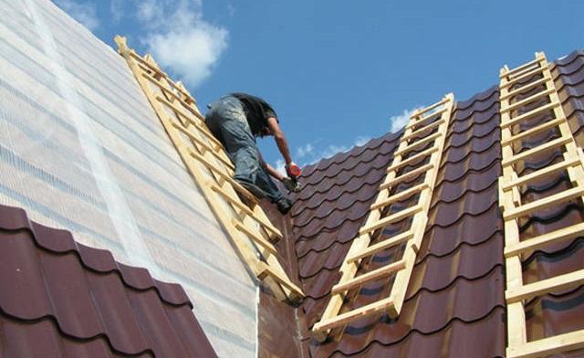 Гідроізоляція даху для профнастилу.
