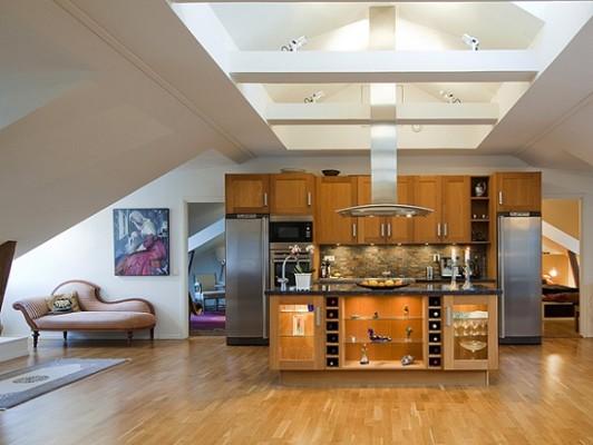 """Інтер'єр квартири і меблі в стилі """"лофт"""", дивимося фото."""