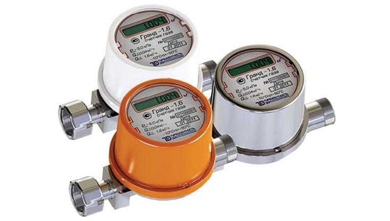 Схема встановлення газових лічильників