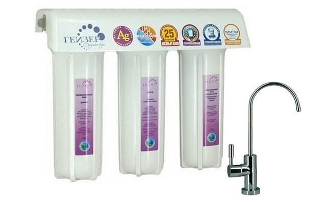 Фільтри очищення води із свердловини.