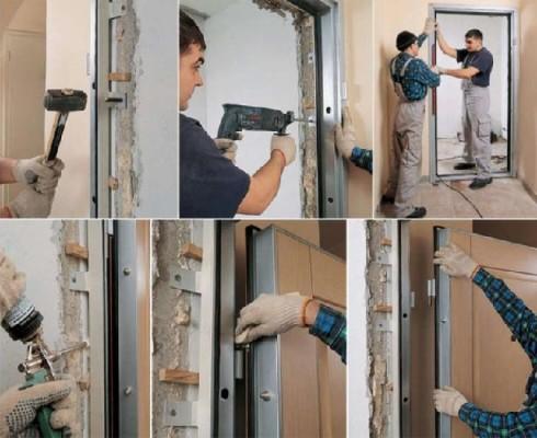 металеві двері своїми руками