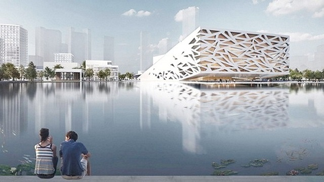 Архітектурний шедевр данця зросте у Китаї