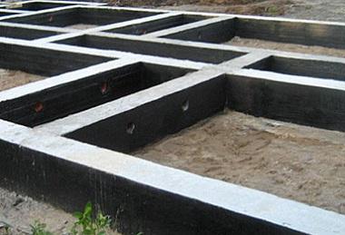 Заглиблений фундамент для каркасного будинку.