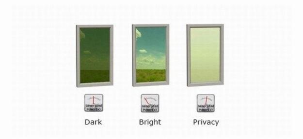 Скло Smart Glass - темне і світле