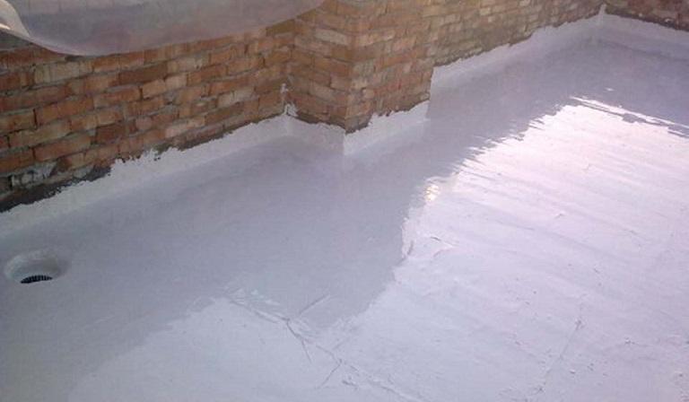 Гідроізоляція підлоги.
