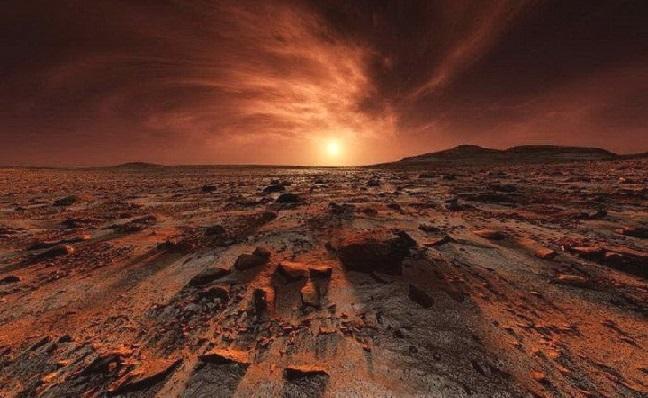 Американці створять бетон для будівництва на Марсі.