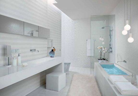 Модний дизайн ванної кімнати фото
