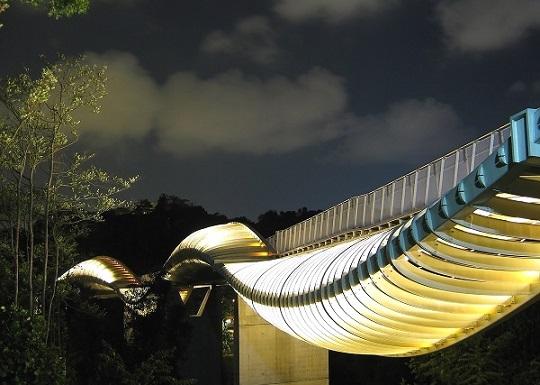 Міст у сінгапурі Hеnderson Wаves Bridgе