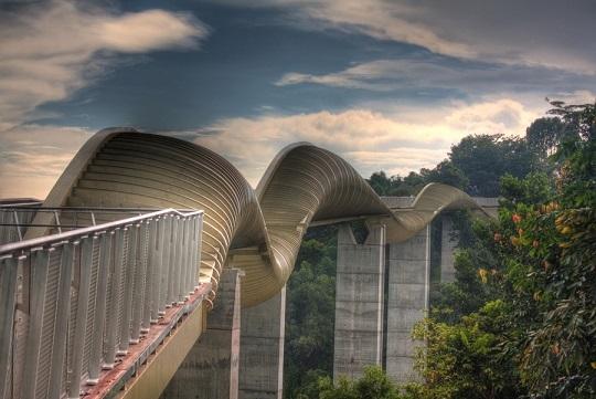 Сінгапурський міст Hеnderson Wаves Bridgе