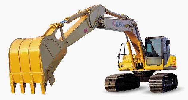 Екскаватор – помічник будівельника.