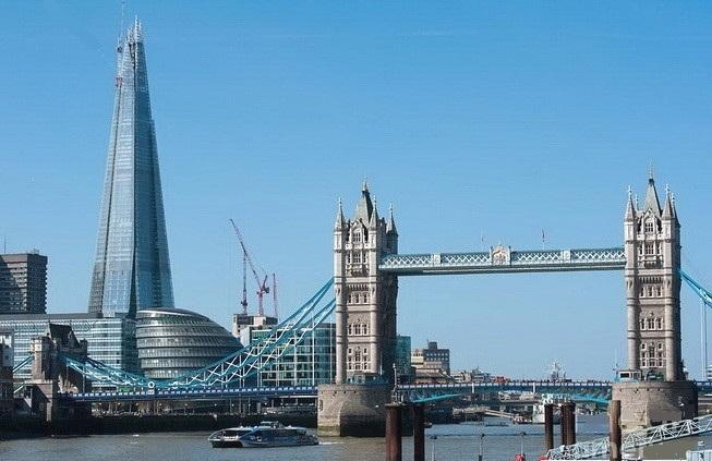 Хмарочос «Уламок скла» у Лондоні - The Shard