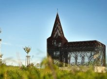 Прозора церква в Лімбурзі - Бельгія.