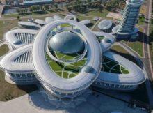 Центр науки та техніки у Пхеньяні.