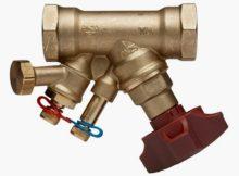 Балансувальні клапани - види, правила вибору, етапи установки.