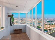 Види скління балконів.