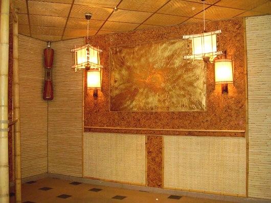 Бамбукові шпалери.