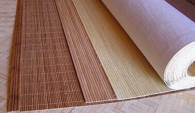 Бамбукові шпалери - як клеїти?
