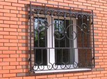 Зварні віконні решітки.