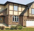 Обробка фасадів будинків облицювальним каменем