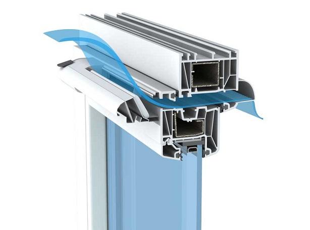 Клапан АЕРЕКО на скло пакетах для вентиляції квартири