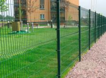 Металеві сітки для парканів.